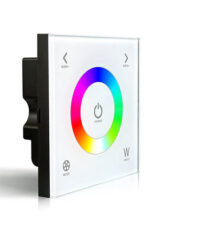 Dotykový ovladač RGBW na stěnu-Pro přímé řízení RGBW osvětlovacích sestav v místnosti