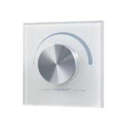 Ovladač točítko jednozónový inteligentní na stěnu bílý                          -Pro řízení osvětlení v místnosti pomocí točítka - vysílač