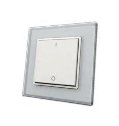 Ovladač spínač plochý jednozónový inteligentní na stěnu                         -Pro ovládání  LED osvětlení v místnosti plochým tlačítkem - vysílač