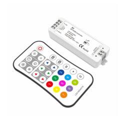 Tlačítkový dálkový ovladač RGB s přijímačem B-Pro ovládání RGB pásků