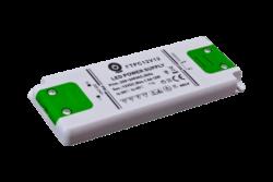 Zdroj napětí 12V 12W 1A IP20 POS POWER typ FTPC12V12 C-Interiérový a nábytkový napěťový napájecí zdroj s krytými svorkami 12V/12W. Řada PROFI se všemi potřebnými certifikáty pro nábytek a interiér.