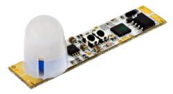 Pohybový PIR spínač do profilu SOUMRAK LUX A zvýšený-Pohybový PIR spínač do LED profilu s rozsáhlými funkčními možnostmi