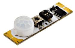 Pohybový PIR spínač do profilu SOUMRAK A-Pohybový PIR spínač do LED profilu s rozsáhlými funkčními možnostmi