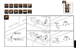 Dotykový spínač se stmívačem k zavrtání do korpusu PLAST černý(3204004607)