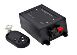 Stmívač LED s DO typ C (přijímač + vysílač typ klíčenka)-Sada přijímače a dálkového ovladače typ klíčenka