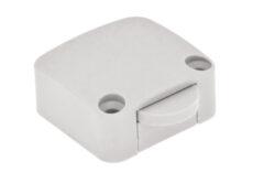 Vypínač mechanický 12V/max.2A, bílý-Spínač pro osvětlení vnitřního prostoru skříně při otevření dveří
