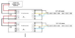 Tlačítkový dálkový ovladač CCT čtyřzónový(3204018609)