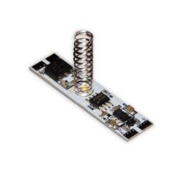 Vypínač a stmívač do LED profilu kapacitní LUX E-Spolehlivý a cenově výhodný vypínač do lišt s LED osvětlením