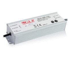 Zdroj napětí 12V 100W 8,5A IP67 GLP typ GLG-100-12A-Cenově výhodný výkonný napěťový napájecí zdroj 12V/100W