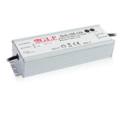 Zdroj napětí 12V 150W 12,5A IP67 GLP typ GLG-150-12A-Cenově výhodný výkonný napěťový napájecí zdroj 12V/150W