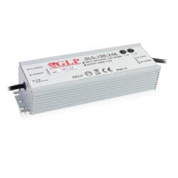 Zdroj napětí 24V 150W 6,3A IP67 GLP typ GLG-150-24A-Cenově výhodný výkonný napěťový napájecí zdroj 24V/150W