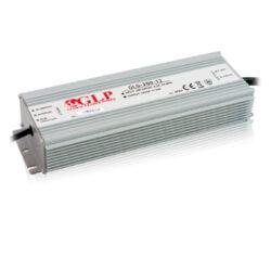 Zdroj napětí 12V 300W 25A IP67 GLP typ GLG-300-12-Cenově výhodný výkonný napěťový napájecí zdroj 12V/300W
