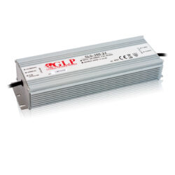 Zdroj napětí 24V 300W 12,5A IP67 GLP typ GLG-300-24-Cenově výhodný výkonný napěťový napájecí zdroj 24V/300W
