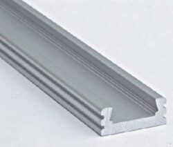 Profil WIRELI 01 hliník anod. 20x8x2 m (metráž)-Universální přisazený LED profil.