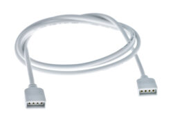 Kabel prodlužovací RGB-A samice - samice, délka 1m                              -Pro tzapojení kabeláže RGB LED sestavy