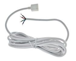 Konektor RGB-A s kulatým kabelem, délka 2m                                      -Pro zapojování kabeláže RGB LED sestavy