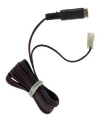 Kabel redukce JST samice / JACK samice, délka 2m-Pro připojení zdroje s napájecím konektorem k systému JST