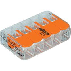 WAGO svorka s páčkou 1x5pin-Bezšroubá svorkovnice pro spojení maximálně pěti vodičů