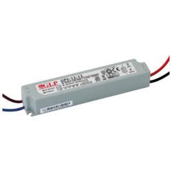 Zdroj napětí 12V  12W 1A IP67 GLP typ GPV-12-12-Standardní napěťový napájecí zdroj pro LED v krytí IP67 12V/12W