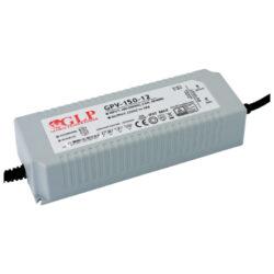 Zdroj napětí 12V 120W(!!!) 10A IP67 GLP typ GPV-150-12-Standardní napěťový napájecí zdroj pro LED v krytí IP67 12V/150W
