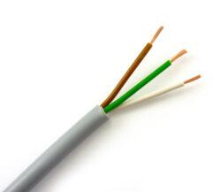 Kabel RGB kulatý 3x0,25mm2, metráž