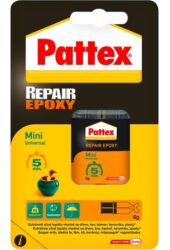 Dvousložkové epoxidové lepidlo Repair Epoxy Mini 6 ml-Pattex Repair Epoxy 6 ml.