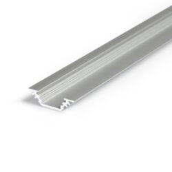 Profil WIRELI TRIO BC/ 90/45° hliník anoda 2m (metráž)                          -Miniaturní rohový profil 45°nebo pro kolmé zafrézování do podložky.