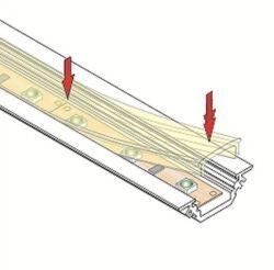 Difuzor WIRELI C KLIP JEMNĚ MATNÝ, 2m (metráž)(3209007600)
