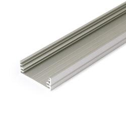Profil WIRELI15 TRIPLEX WIDE24 G/W hliník anoda 2m (metráž)-Univerzální přisazený široký profil, do kterého se vejde více pásků.