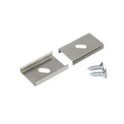 Montážní úchyt  U oválný otvor, nerez ocel (1kus)