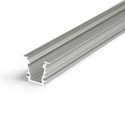Profil WIRELI27 DEEP 10 BC/UX hliník anoda 2m-Hliníkový LED osvětlovací profil s velkou zástavnou hloubkou pro vytvoření souvislé světelné linie.