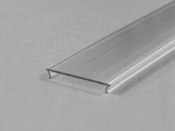 Difuzor  WIRELI C10a ČIRÁ optika široký úhel 2m (metráž)  vnější drážka PH/LO/SM-Difuzor pro profily PHIL, LOWI, MULTI