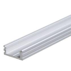 Profil WIRELI 01 hliník anod. 20x8x4000mm (metráž)-Universální přisazený hliníkový LED profil.