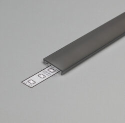 Difuzor WIRELI F KLIP ČERNÝ 2m (metráž)-Nový typ difuzoru F KLIP.