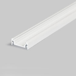Profil WIRELI11 SURFACE BC/UX bílý komaxit 2m (metráž)-Nejprodávanější univerzální přisazený profil s bohatou výbavou doplňků pro montáž a různými druhy difuzorů.