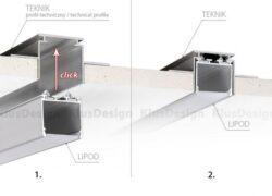 Profil LIPOD hliník anod. 2000mm (metráž)(3209124609)