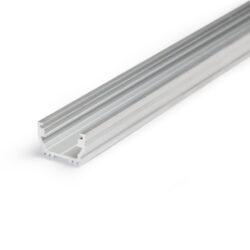 Profil WIRELI UNI12 BCD/U hliník surový 2000mm (metráž)                         -Universální přisazený profil s malými rozměrty a bohatým příslušenstvím.