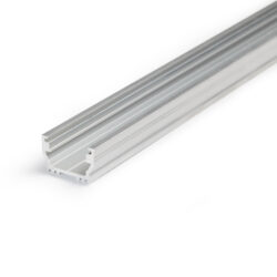 Profil WIRELI UNI12 BCD/U hliník anod 2000mm (metráž)-Universální přisazený profil s malými rozměrty a bohatým příslušenstvím.