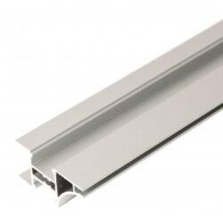 Profil WIRELI EDGE A (metráž)-Lze krátit, ale minimální prodejní množství 3 m (- případné prořezy).  Pro čisté linie. Úchyt a světelná hrana na horní skříňky.