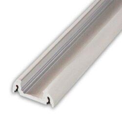 Profil WIRELI FINLANDIA ALU hliník anod. 20x10x4000mm (metráž)-Moderní kvalitně propracovaný profil s oblými hranami pro přisazenou montáž na desku.