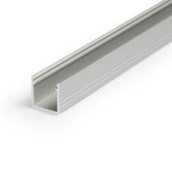 Profil WIRELI SMART10 A/Z hliník anoda 2m (metráž)-Miniaturní hliníkový LED profil s vyšší zástavnou hloubkou.