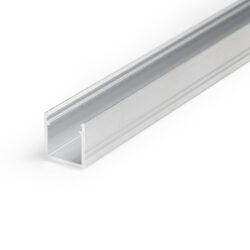 Profil WIRELI SMART10 A/Z hliník surový 2m (metráž)-Miniaturní hliníkový LED profil s vyšší zástavnou hloubkou.