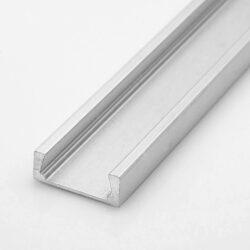Profil WIRELI MIKRO UP nakládaná hliník anod. 15,9x6x2000mm (metráž)-Universální hliníkový hranatý miniaturní LED profil.