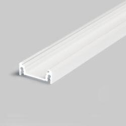 Profil SURFACE LINE 14 bílý komaxit (midi Wireli11)-Univerzální přisazený profil s bohatou výbavou doplňků pro montáž a různými druhy difuzorů. Snadná práce a profesionální vzhled.