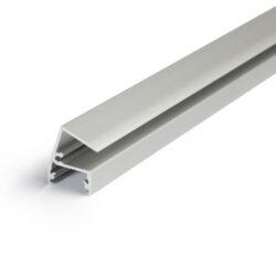 Profil WIRELI EDGE10 BC/ hliník anoda 2m-Designový profil pro LED osvětlení vitrín a polic.