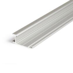 Profil WIRELI WALLE12 A BCD/ základna hliník anoda 2m-Základna designového profilu pro vytvoření světelné linie na stěně, u stropu, na fasádě apod.