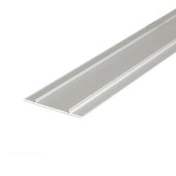 Profil WIRELI WALLE12 B1 vnější kryt hliník anoda 2m-Kryt základny designového profilu pro vytvoření světelné linie na stěně, u stropu, na fasádě apod.