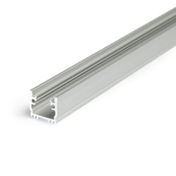 Profil WIRELI FLOOR12 K/U hliník anoda 2m                                       -Pochůzný podlahový profil do obkladů, dlažby nebo drážky.