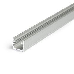 Profil WIRELI FLOOR12 K/U hliník anoda 2m-Pochůzný podlahový profil do obkladů, dlažby nebo drážky.