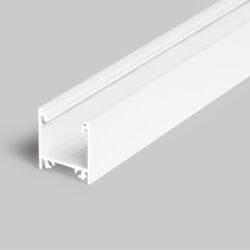 Profil WIRELI LINEA20 EF/TY bílý komaxit 2m (metráž)-Moderní profil pro stropní liniová LED svítidla.